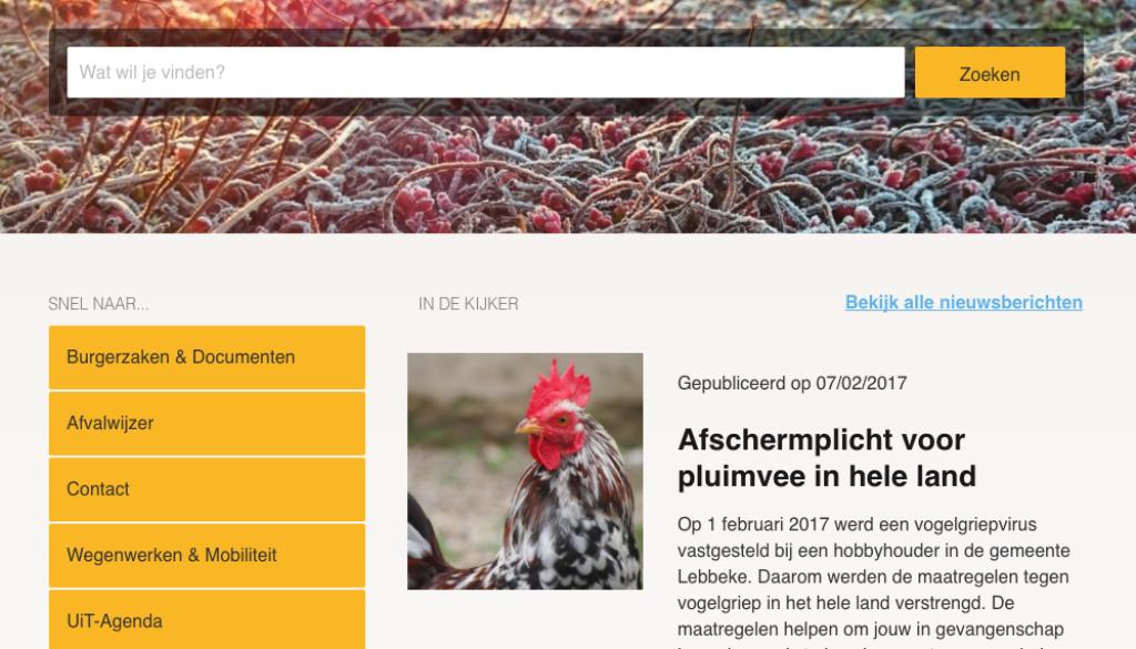 website zandhoven after