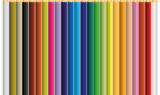 24 color pencil vector klein